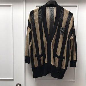 Brunello Cucinelli linen silk sweater size M